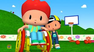 funny  Score The Basket   Pepee   Learning Videos For Toddlers   Cartoons For Children   Kids Abc Tv