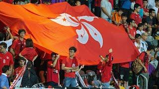 Hong Kong football fans boo China's national anthem