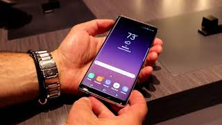 Galaxy Note 8 Hands On At Samsung Unpacked 2017 In NYC - HotHardware