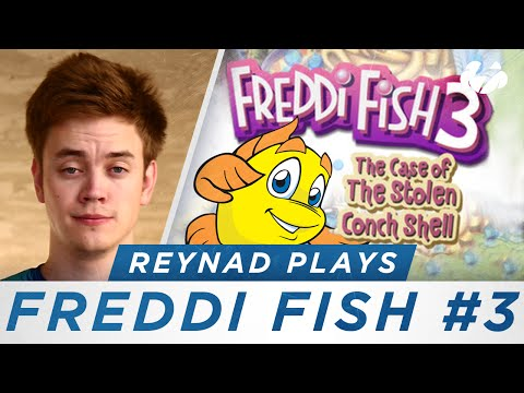 Reynad Plays [Ep. 3] - Freddi Fish 3: The Case Of The Stolen Conch Shell