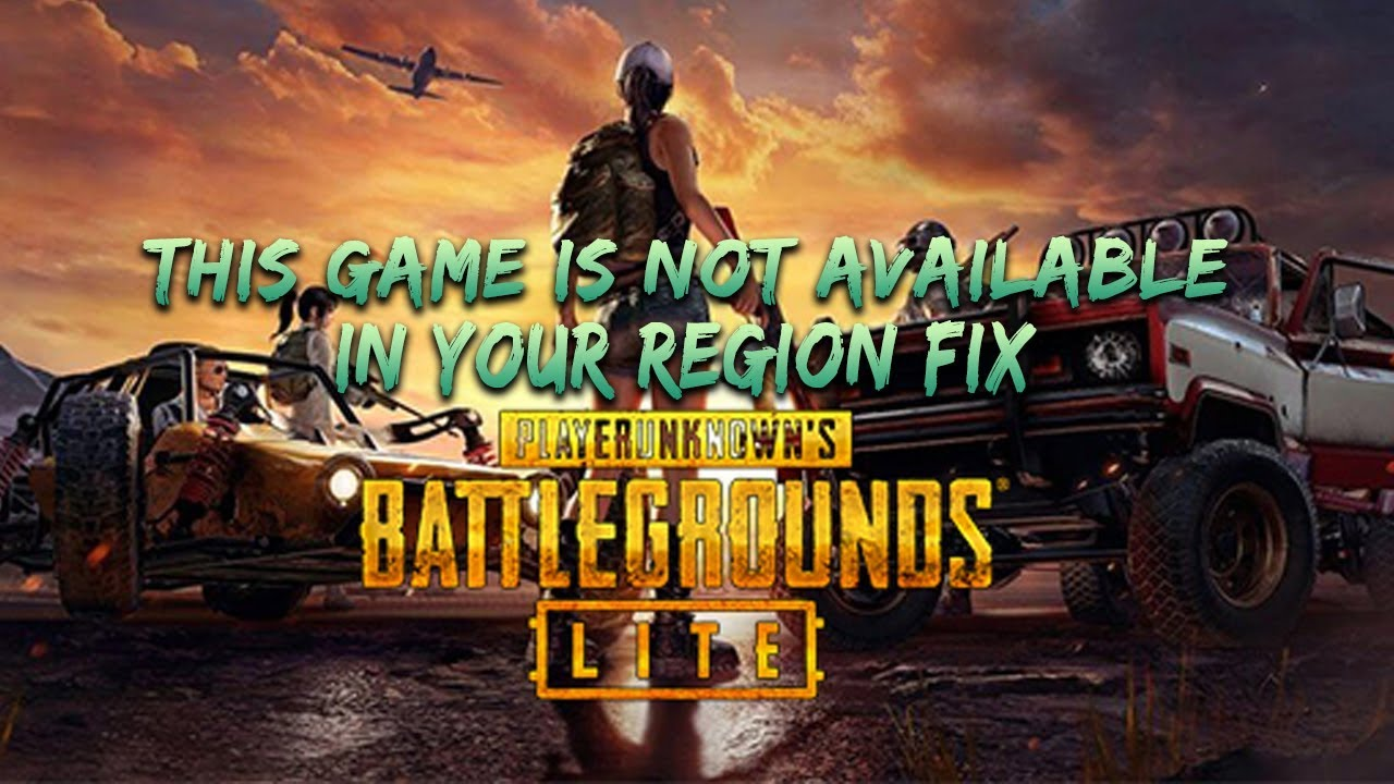 PUBG LITE It Is Not Available In Your Region Fix / Bangla
