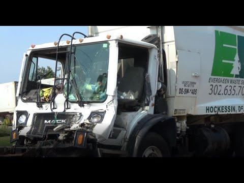 Police investigating tractor trailer crash in Edgemoor