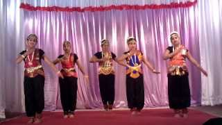 Semi - Classical Devotional Group Dance