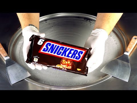 asmr---snickers-ice-cream-rolls-|-oddly-satisfying-chocolate-bar-fast-triggers-and-relaxing-tingles