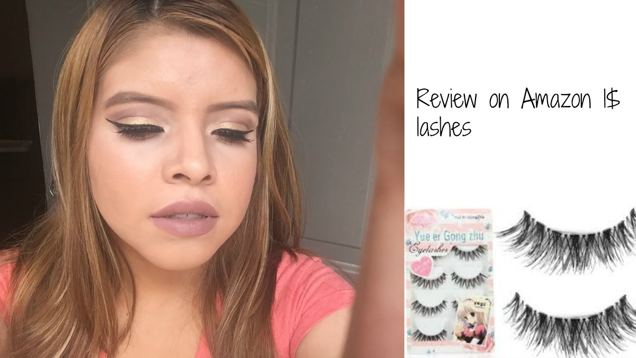 Review On 1 Lashes From Amazondemo Youtube