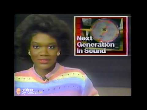In 1985 The Compact Disc - CD - Was An Emerging Technology - WSMV-TV  Scene at 10 Report