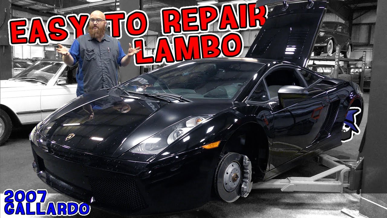 Really, an easy to repair supercar! CAR WIZARD shows just how simple this '07 Gallardo is to work on