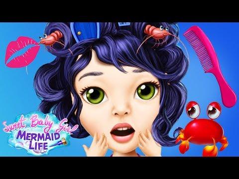 Fun Kids Care Games - Mermaid Pet Sea Animal Makeup Dress Up Makeover Clean Up Kids & Girls Games