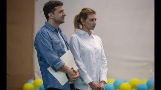 Никаких платьев. Первый официальный выход Первой Леди Украини. Елена просто прелесть!