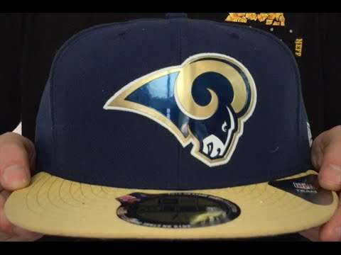 3ad2a3ae Rams '2015 NFL DRAFT' Navy-Gold Fitted Hat by New Era