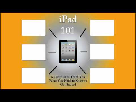 Ipad 101 (A Course for Beginners) | H2TechVideos