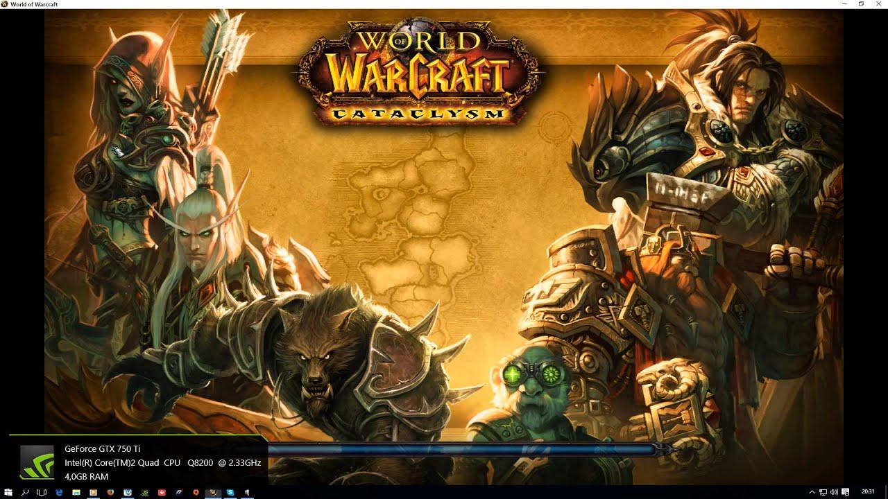 world of warcraft cataclysm 4.0.6
