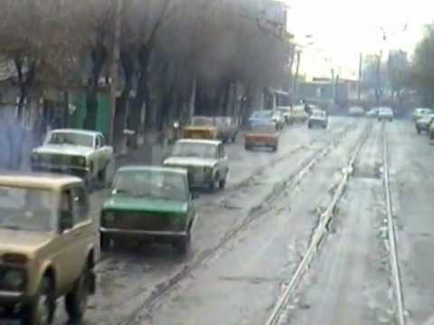Yerevan 1997.tramvay.