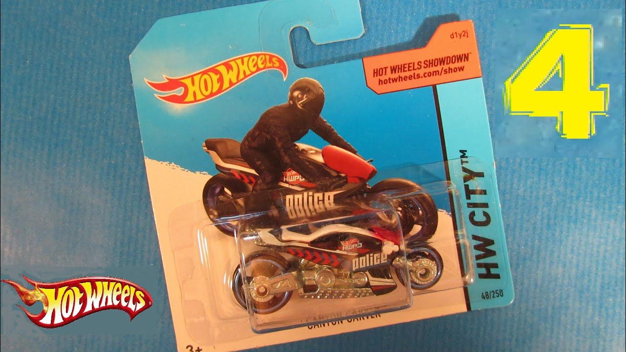 Hw hot wheels 2015 hw city 48 250 canyon carver police motorcycle - Hot Wheels Showdown Canyon Carver Model Moto