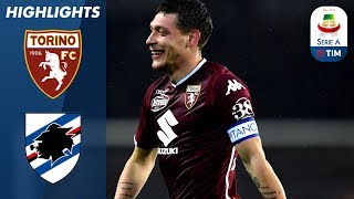 Torino 2-1 Sampdoria | Belotti DOUBLE as Torino chase European place! | Serie A