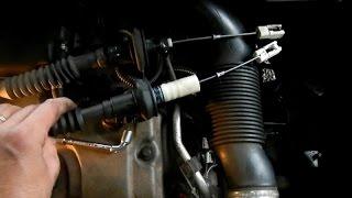 Changer un cable d'embrayage sur peugeot 206,  clutch  (tuto)