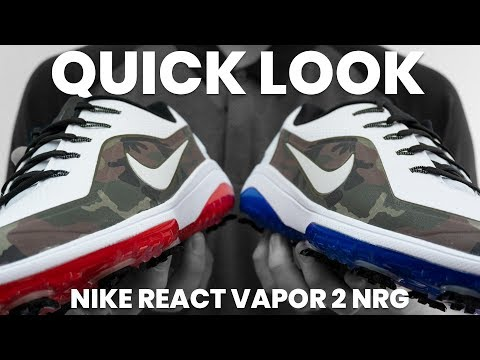 a847ff61fa2c Nike React Vapor 2 NRG Golf Shoes | 2018 Ryder Cup | Quick Look - YouTube