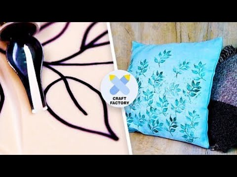 3 Easy Printing Crafts For Beginners | Lino Cutting DIY | Old T-Shirt Crafts | Craft Factory