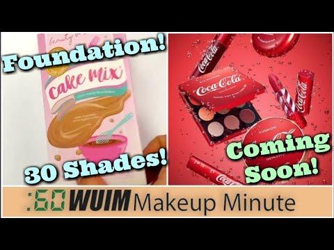 Beauty Bakerie Cake Mix FOUNDATION! Coca Cola Makeup Collection! | Makeup Minute