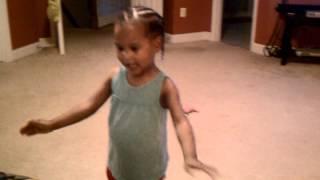 Lana dancing to Hide Me by Kirk Franklin
