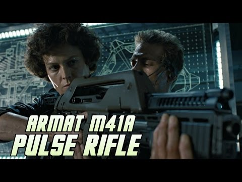 USCM Artillery: Armat M41A Pulse Rifle - Explained