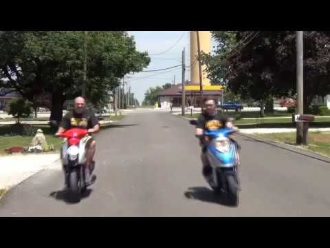 How to Make Your 49cc Scooter Faster than a 150cc. Visit us on at jandjpowersports.com