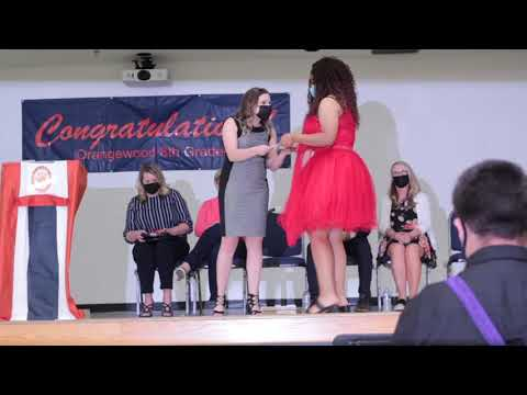 2021 8th Grade Promotion   Orangewood School