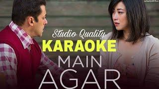 Main Agar - Tubelight - KARAOKE With Lyrics || Atif Aslam || BasserMusic