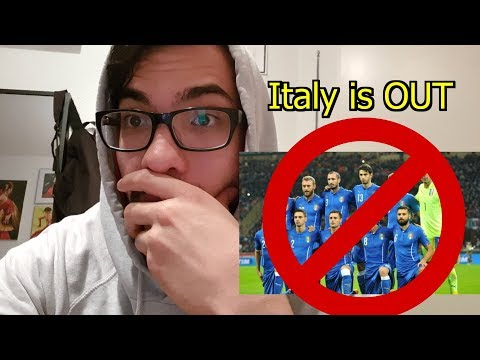 ITALY is NOT going to the WORLD CUP | Shocking LIVE REACTION vs. Sweden Review