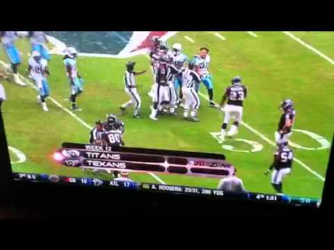 Andre Johnson Cortland Finnegan Fight