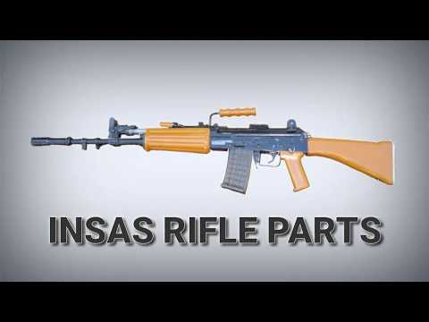 insas 5 56 mm parts name - indian small arms system - YouTube