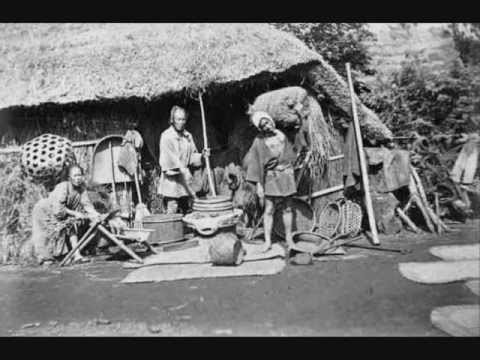 life in 19th century japan youtube