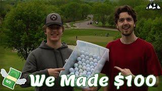 Best way to sęll golf balls!
