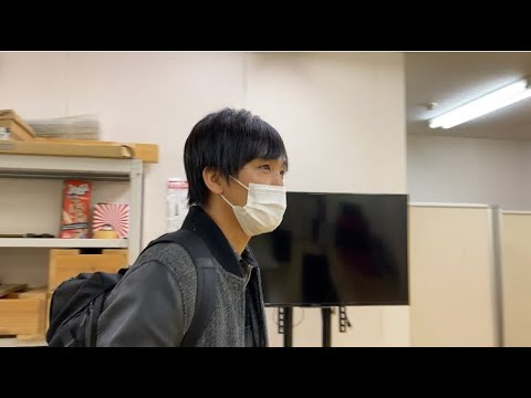 遅刻して来たアイデンティティ田島にカメラで突撃したら悟空ボイスで返すのか?