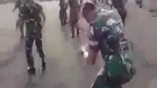 tentara joget  lagu madu dan racun