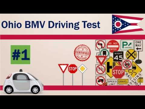 Drivers license test Ohio BMV Permit Practice Test #1