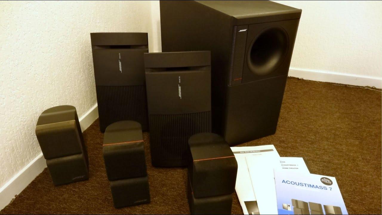 Scoring for free: Bose acoustimass 7 & Sony stereo set - YouTubeYouTube