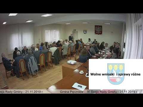 Gmina Pęczniew – XI Sesja Rady Gminy Pęczniew