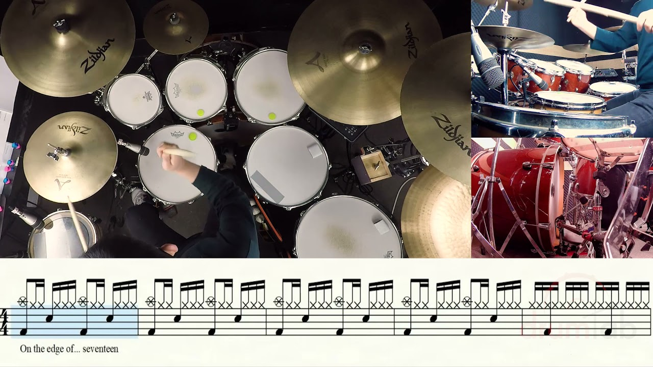 Edge of Seventeen-Stevie Nicks-유한선-일산드럼학원,화정드럼학원,드럼악보,드럼커버,Drum cover,drumsheetmusic,drumscore