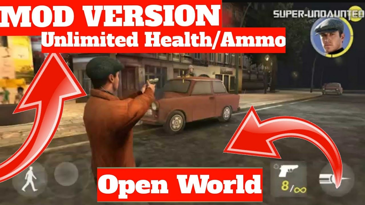 (60MB)Mission Berlin Unlimited MOD APK + OBB || Open World Game Android