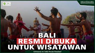 Bali Resmi Dibuka Menparekraf Tekankan Pentingnya Kesehatan Wisman Sebagai Syarat Utama 12 x ditonton21 Okt 2021
