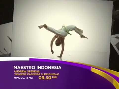 VIVA BRAZIL Capoeira Indonesia Jakarta (1 hour exclusive interview talkshow with Andrew Stevens)