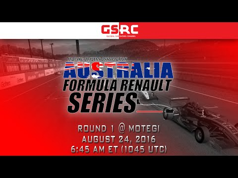 IDA Australia Formula Renault Series - 2016 Round 1 - Motegi