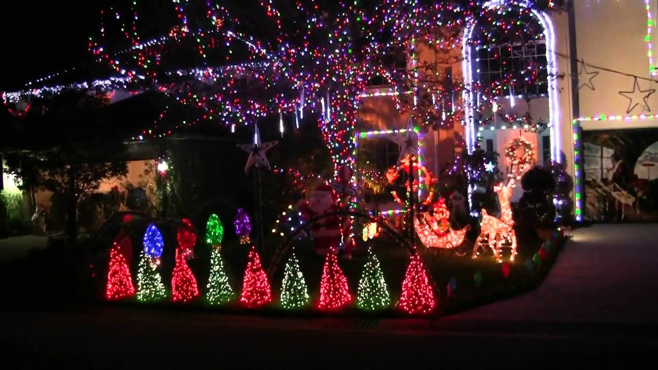 berry christmas light show 2015 vero beach fl