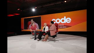 PBS CEO Paula Kerger and journalist Yamiche Alcindor | Full interview | Code 2019