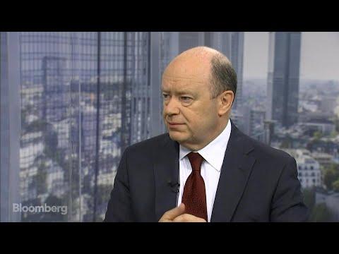 Deutsche Bank CEO Cryan Sees New Revenue Footprint
