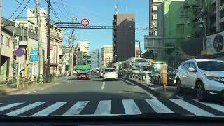 Japanese Real Drive in Tokyo<大田区大森北〜大田区東海>