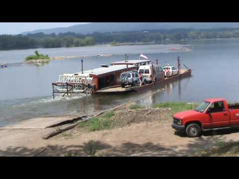 Beautiful Pennsylvania: Millersburg Ferry plies the waters of the Susquehanna River