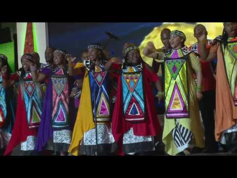 I go Make Am Oh Live Performance By Darey And Soweto Gosple Choir AFRIMA 2016