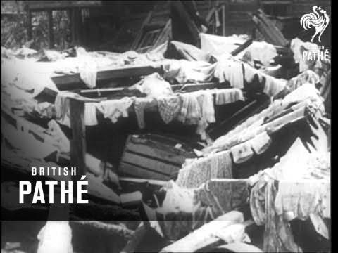 Hurricane 'hattie' Hits Honduras  (1961)
